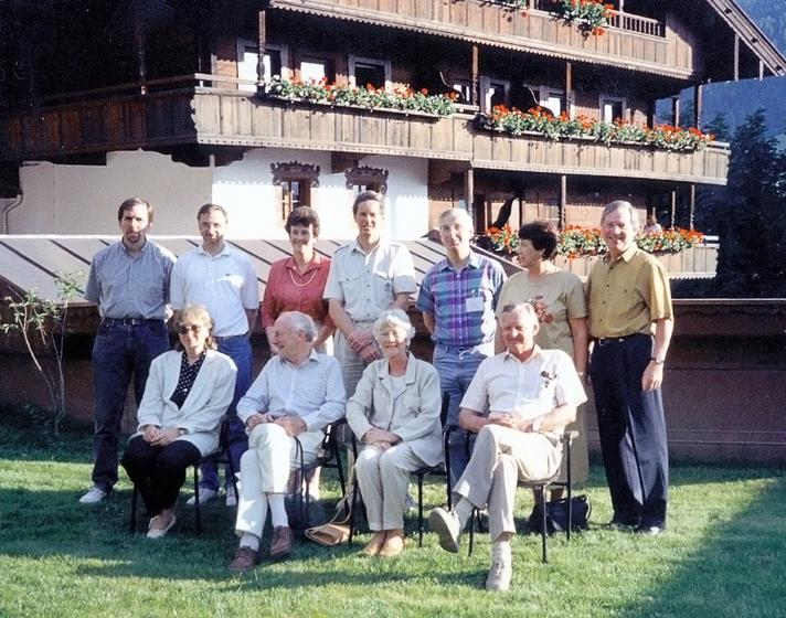 Large 1993 organizers and guest speakers photo highpass
